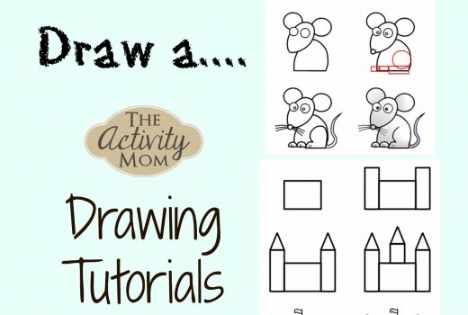 How to Draw a - A collection of drawing tutorials for kids organized by topic