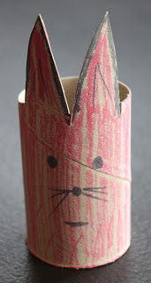 Toilet Paper Roll Craft – R is for Rabbit