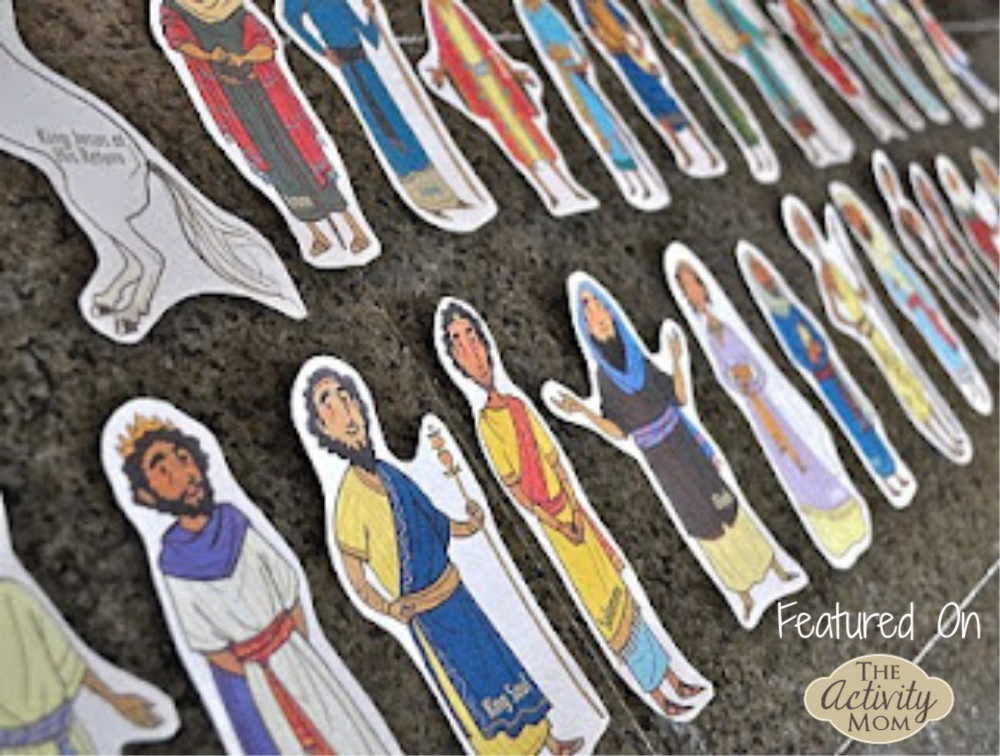 The Activity Mom Bible People Printable The Activity Mom