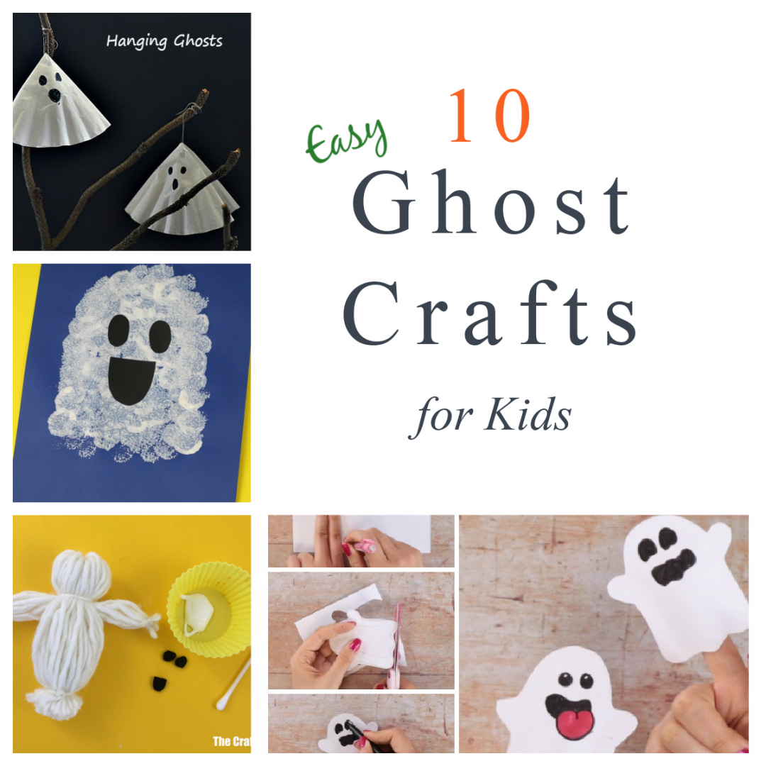 Easy Ghost Crafts for Kids