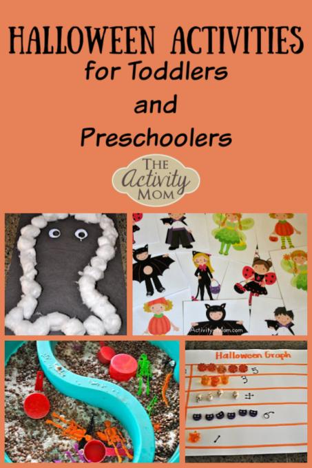 Halloween Activities for Toddlers and Preschoolers