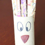 Toilet Paper Tube Alphabet Crafts – T is for Turkey