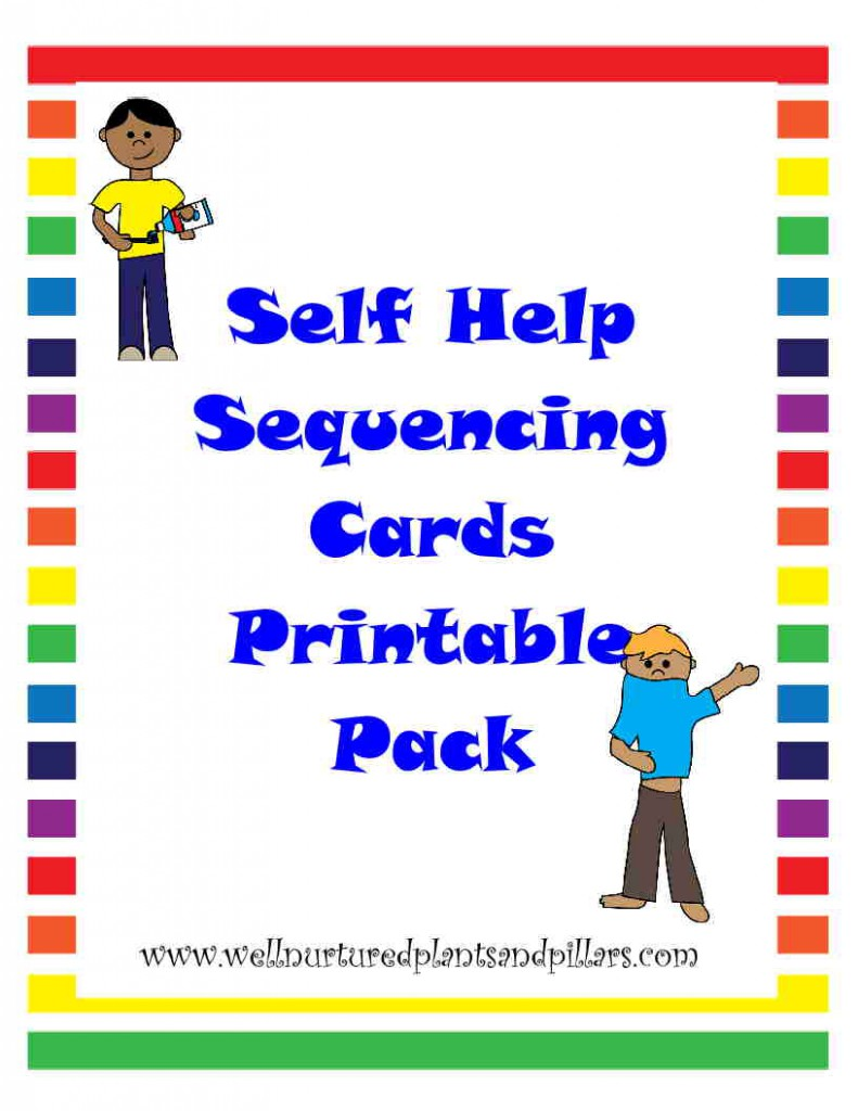 photo about 4 Step Sequencing Pictures Printable identified as The Sport Mother - Sequencing Playing cards Printable - The Game Mother