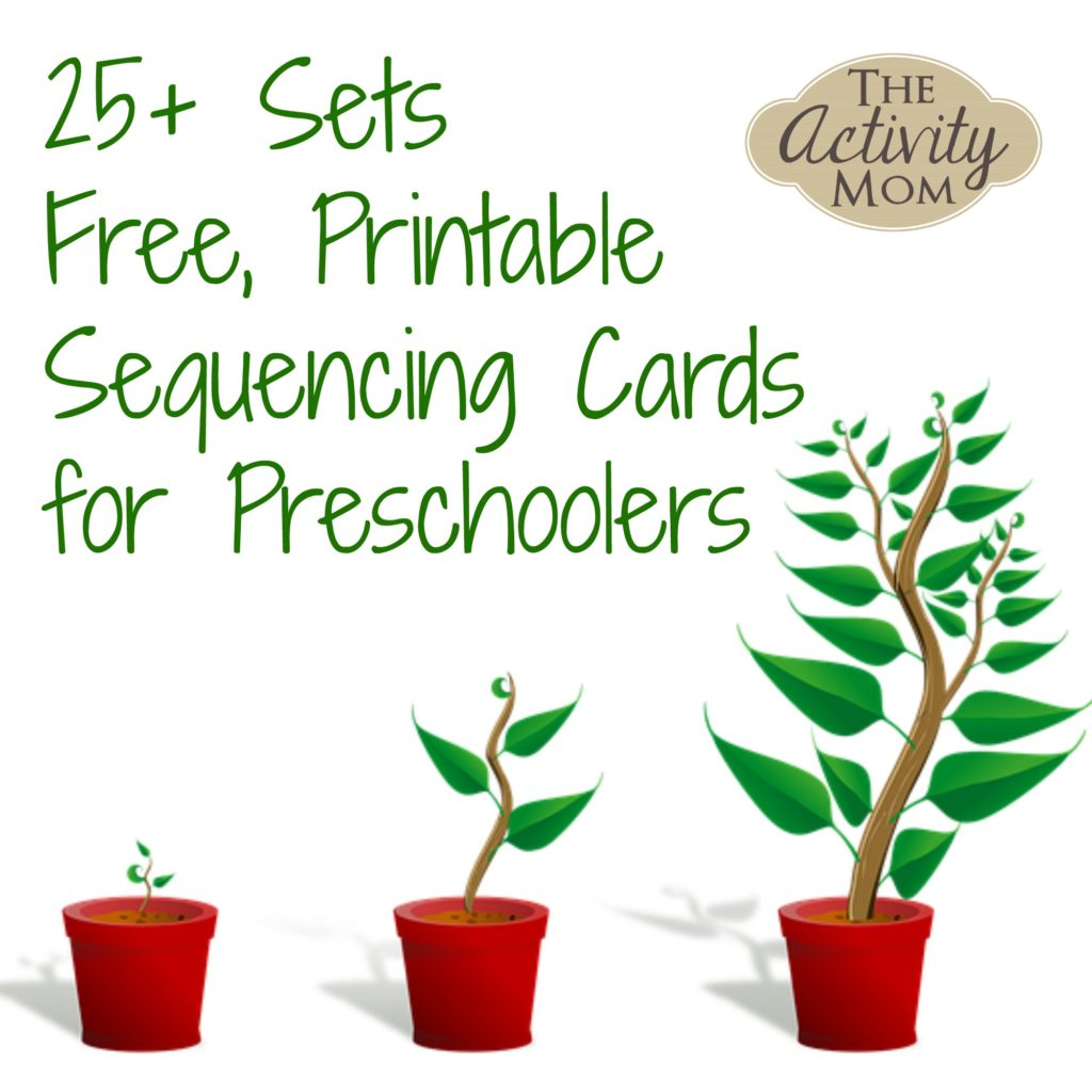 The Activity Mom - Sequencing Cards Printable - The Activity Mom