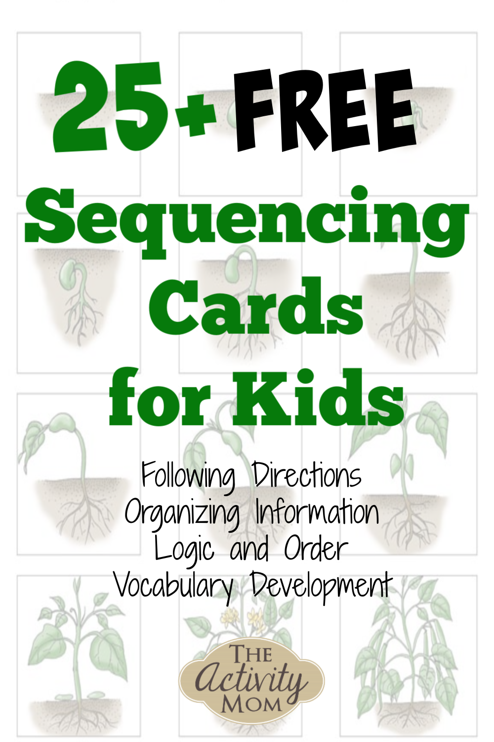 Free Printable Sequencing Cards for Kids