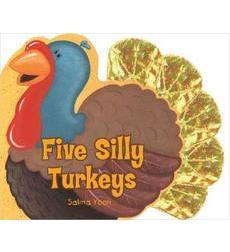 Five Silly Turkeys Activities