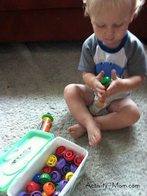 Learning Activities for 18 Month Olds