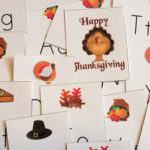 Turkey Alphabet Game (printable)