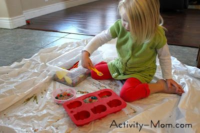 counting practice with pretend play