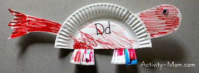 paper plate alphabet craft & The Activity Mom - Paper Plate Alphabet Craft - D is for Dinosaur ...
