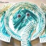 Paper Plate Alphabet Craft – E is for Elephant
