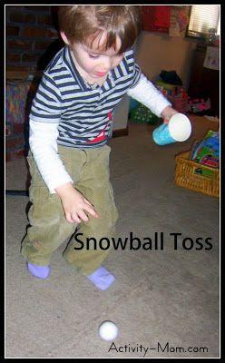 Indoor Snowball Games