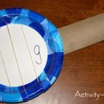Paper Plate Craft – G is for Guitar