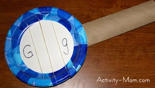 The Activity Mom Paper Plate Craft G Is For Guitar