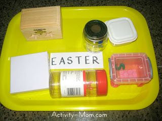 Open and Close Toddler Activities