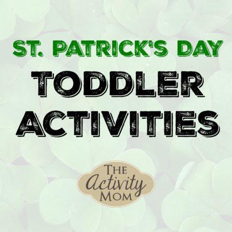 St. Patrick's Day Tot School Activities