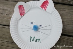 Paper Plate Alphabet Craft – M is for Mouse