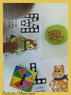 toddler dice game