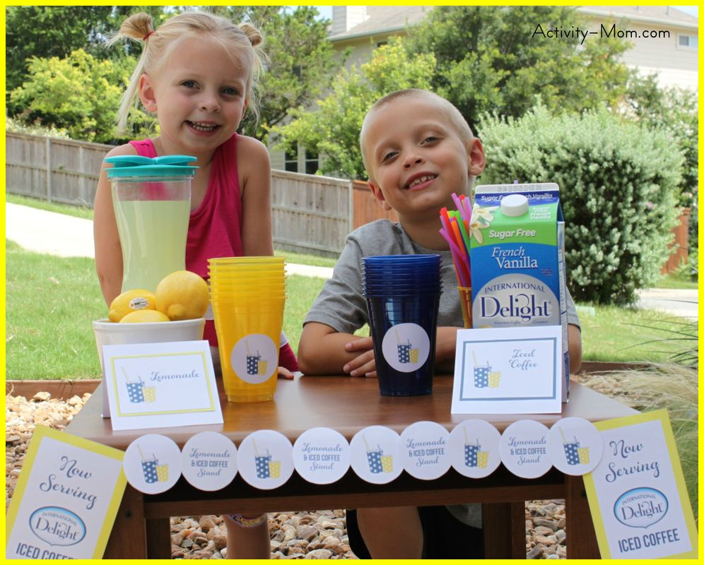The Coolest Lemonade Stand! (printable)
