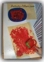 toddler painting