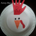 Paper Plate Alphabet Craft – R is for Rooster