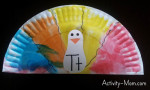 Paper Plate Alphabet Craft – T is for Turkey