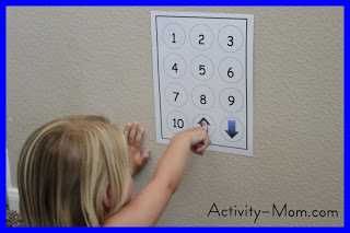 learning numbers elevator game