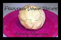 frosting playdough recipe