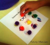 preschool bingo games