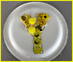 Paper Plate Alphabet Craft – Y is for Yellow