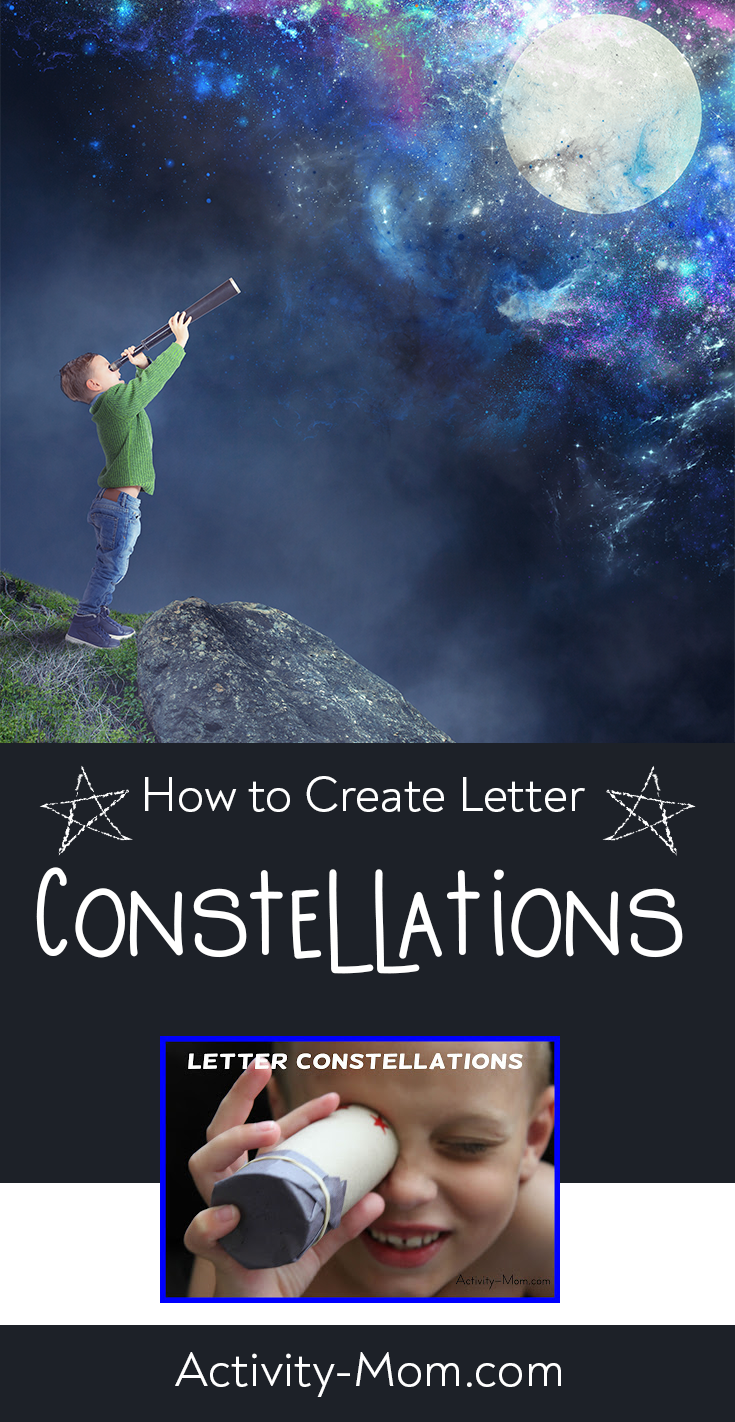 DIY Alphabet Constellations