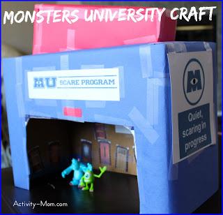 monsters university craft