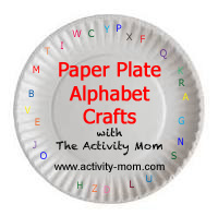 paper plate alphabet crafts