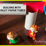 Building Blocks from Toilet Paper Tubes