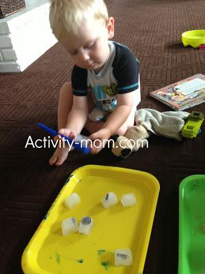 Toddler Frozen Magnets