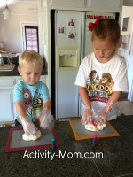 Homemade Play Dough and Beyond