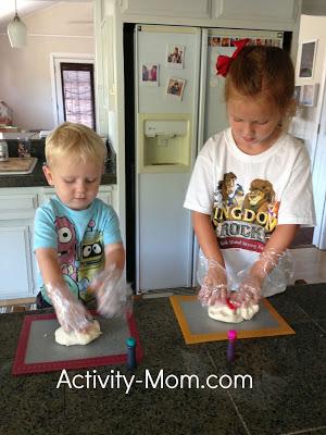 Homemade Play Dough and Beyond