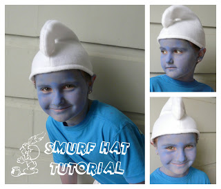 This Diy Smurf Hat Is Super Cute From Rook No 17 Too