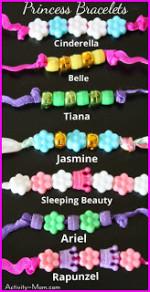Superhero and Princess Bracelets