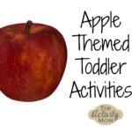 Host an Apple Themed Tot School