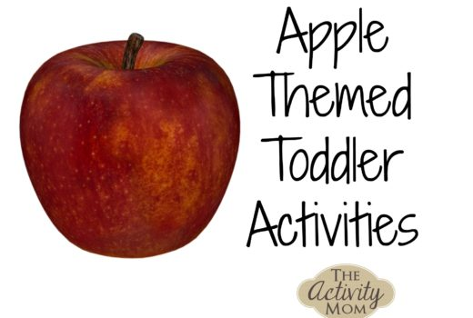 Apple Themed Tot School Activities