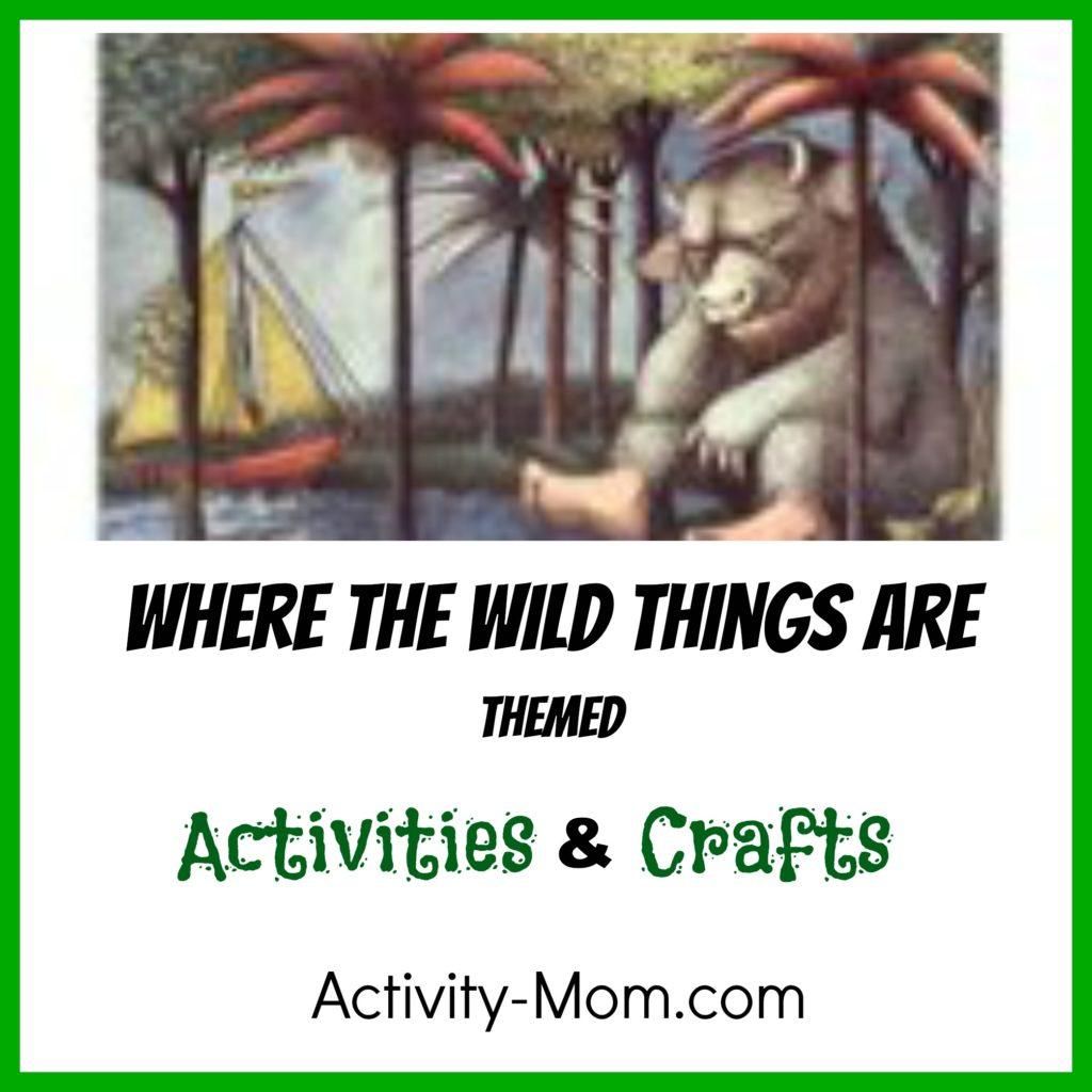 The Activity Mom Where the Wild
