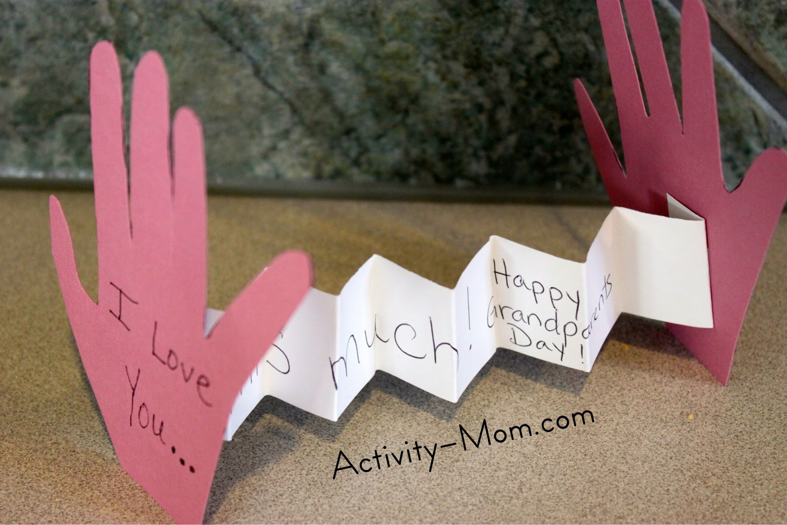 The Activity Mom Grandparents Day Craft The Activity Mom