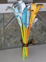 Handprint Lilies Craft