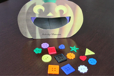 pumpkin game with shapes
