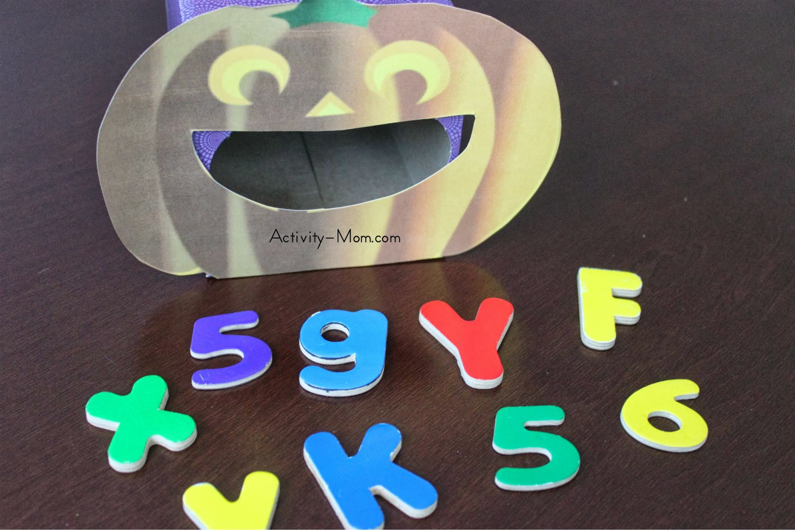Pumpkin Alphabet Game