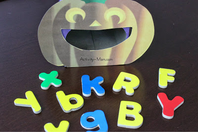 pumpkin game with letters