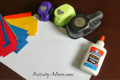 punch glue and create craft