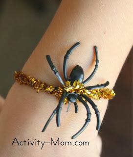 Spider Bracelet Craft