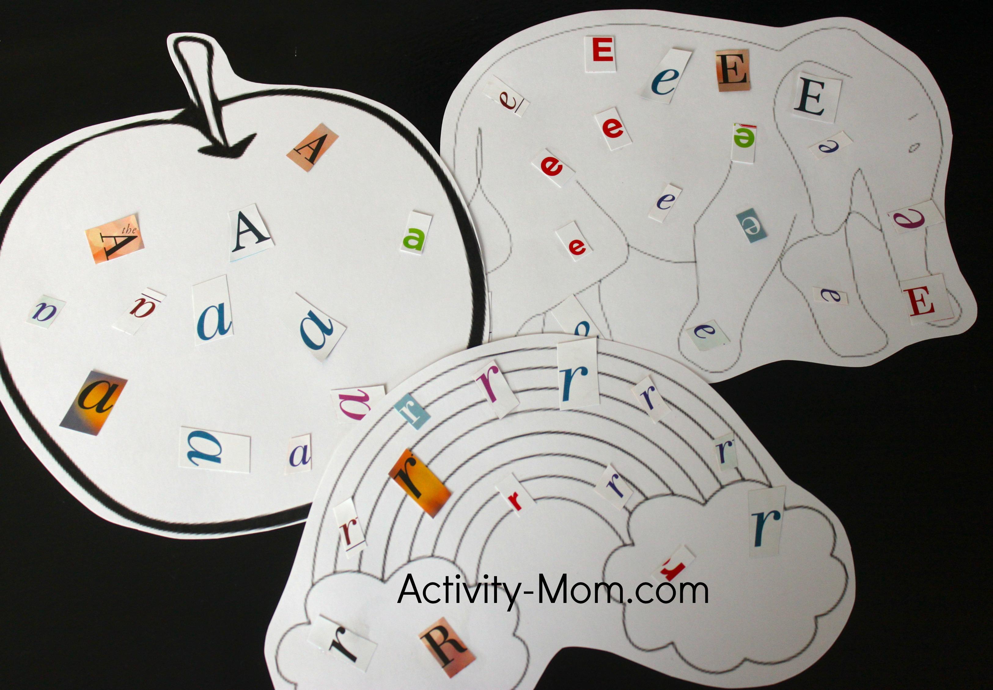 The activity mom alphabet crafts - Putting together stylish kitchen abcs ...